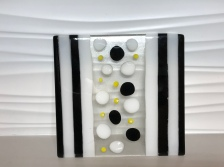 Black, White and Yellow Cheese Plate