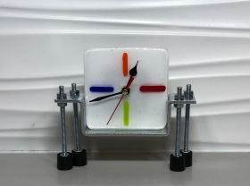 Mutli Colored Clock Face