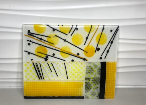 Yellow and Black Collage