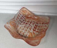 Floating Orange Dish