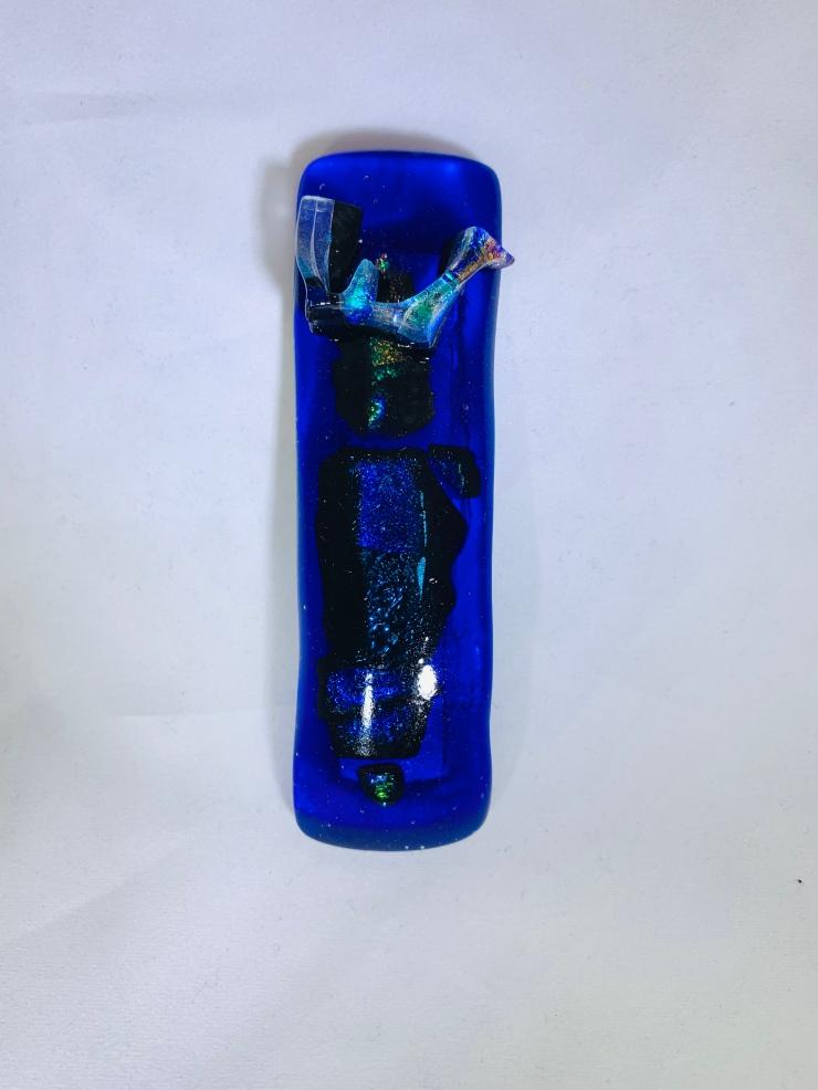 Cobalt Blue Case (J) - Small / $55